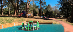 parks in the Blue Mountains, Buttonshaw Park Springwood