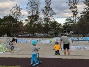 skateparks in the Blue Mountains, Glenbrook Skatepark