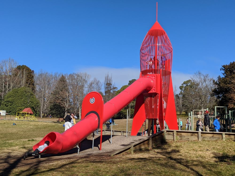parks and playgrounds in the blue mountains, rocket park blackheath