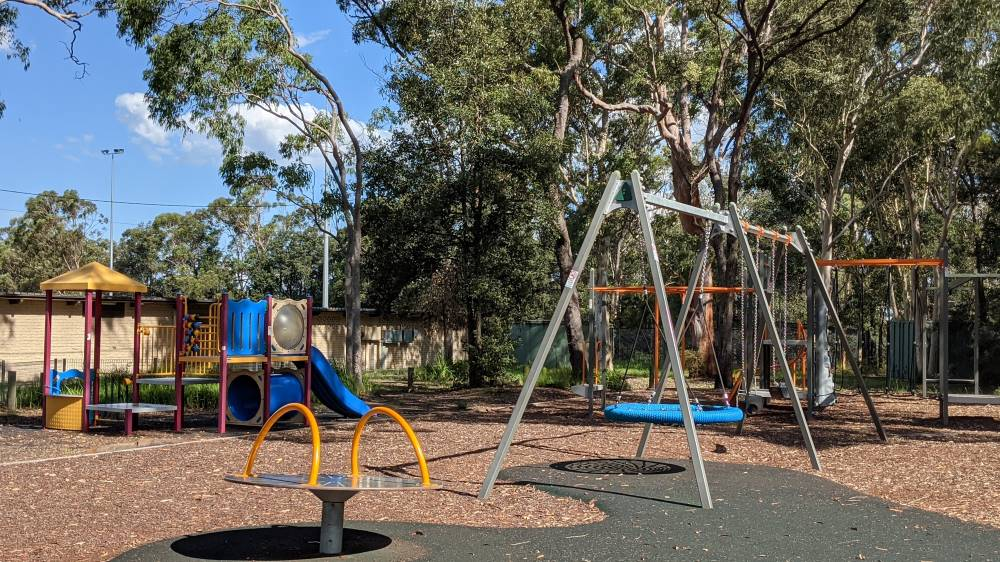 st john's park and playground blaxland