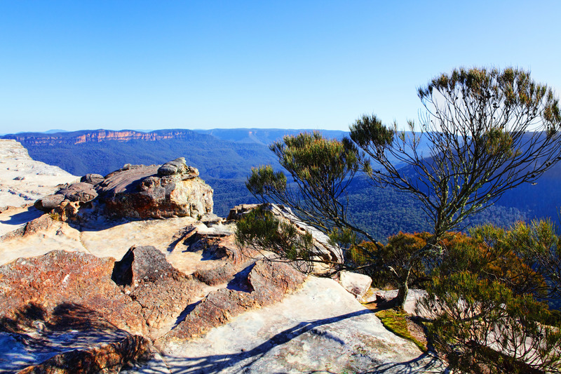blue mountains aboriginal sites, kings tableland