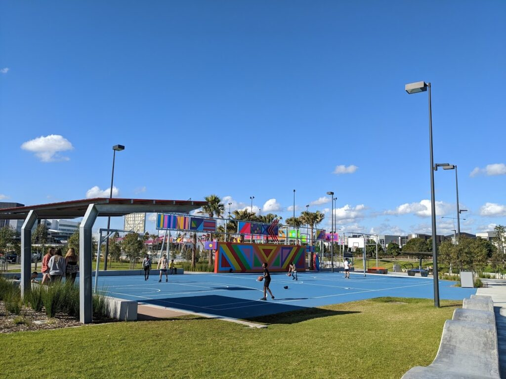 Julia Reserve Youth Precinct basketball courts