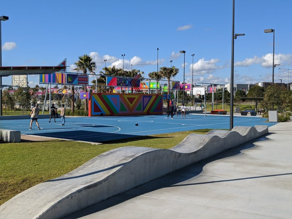 school holidays in the Blue Mountains, julia reserve youth precinct oran park