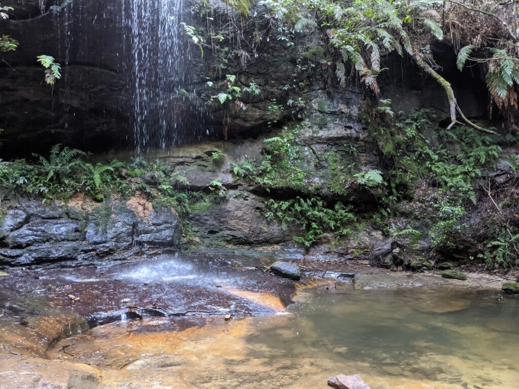 pool of siloam leaura blue mountains waterfall