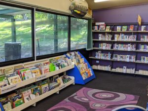 blaxland library children's area