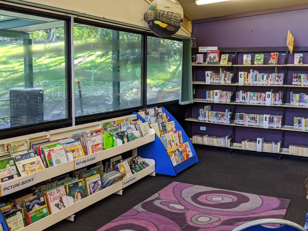 blaxland library children's area