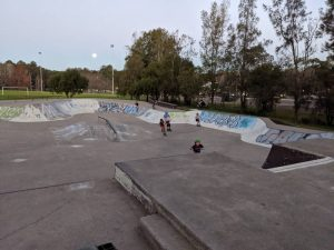 glenbrook skatepark bowl