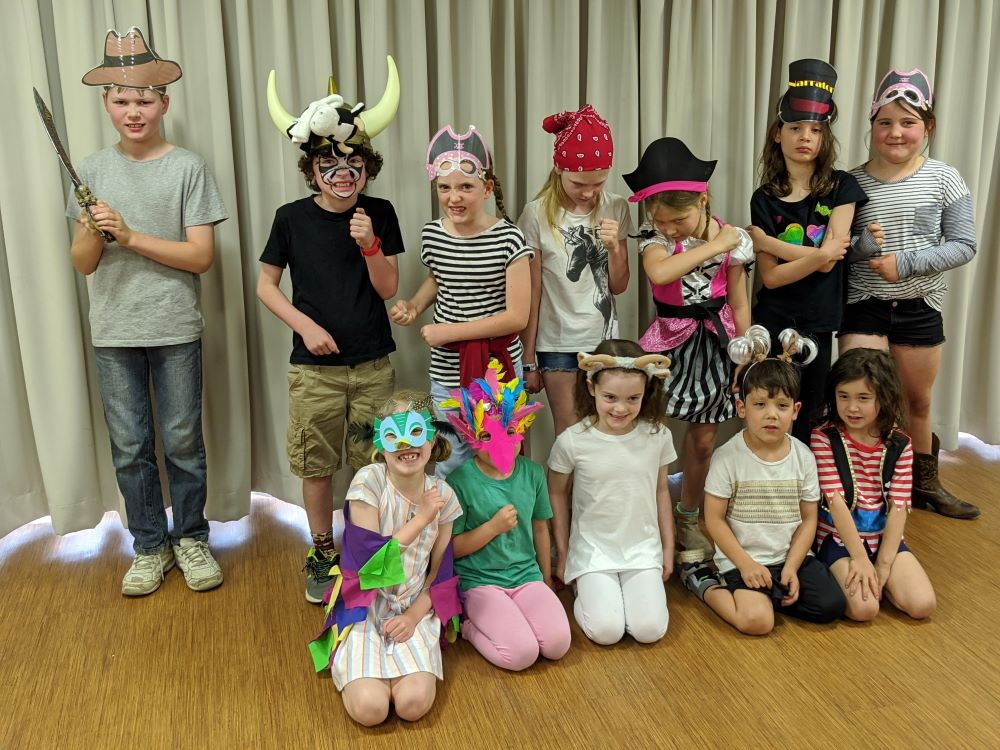 kids can act drama classes blue mountains springwood and south penrith