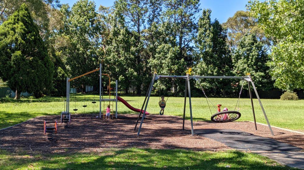 lennox park blaxland playground blue mountains