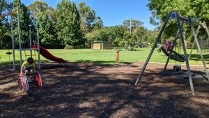 lennox park blaxland playground blue mountains trees