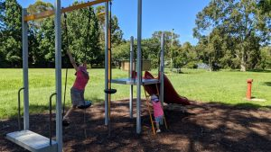 lennox park blaxland playground blue mountains play equipment