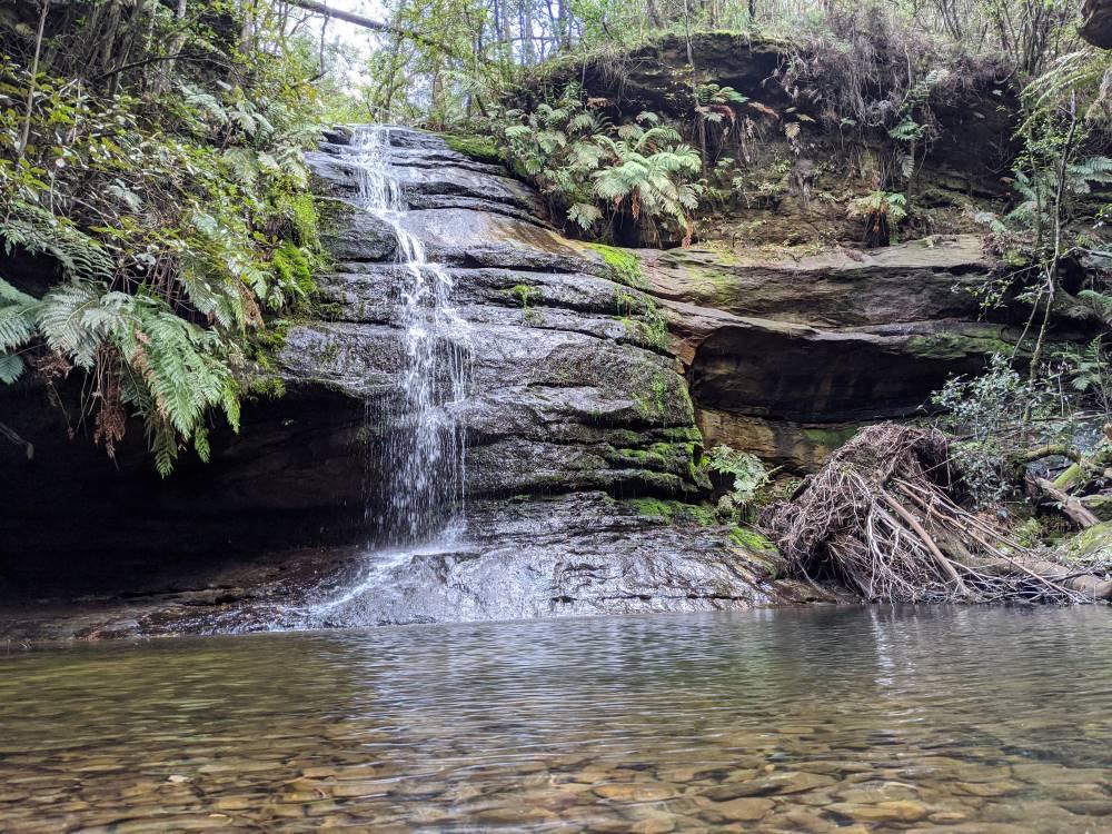 pool of siloam leura beautiful waterfall