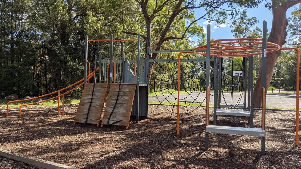 st john's park and playground blaxland new equipment