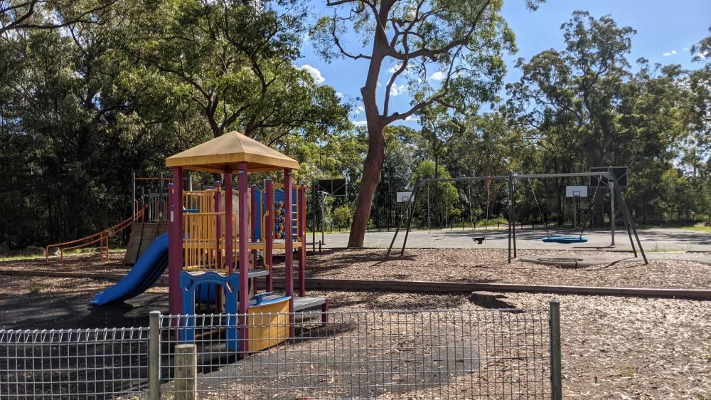 st john's park and payground equipment blaxland