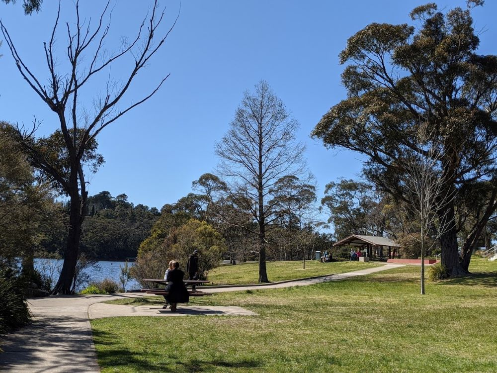 wentworth falls seating areas