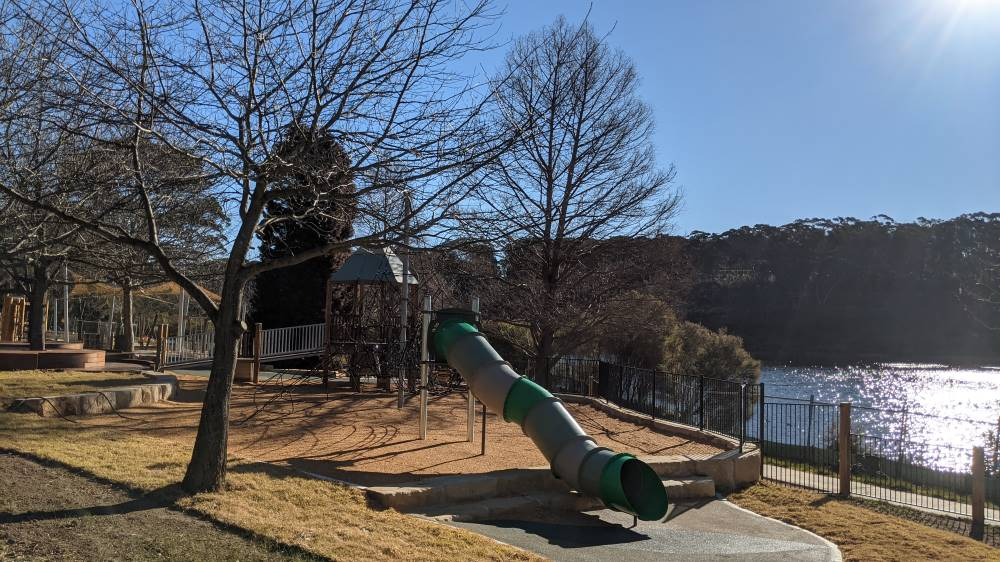 wentworth falls new playground slide