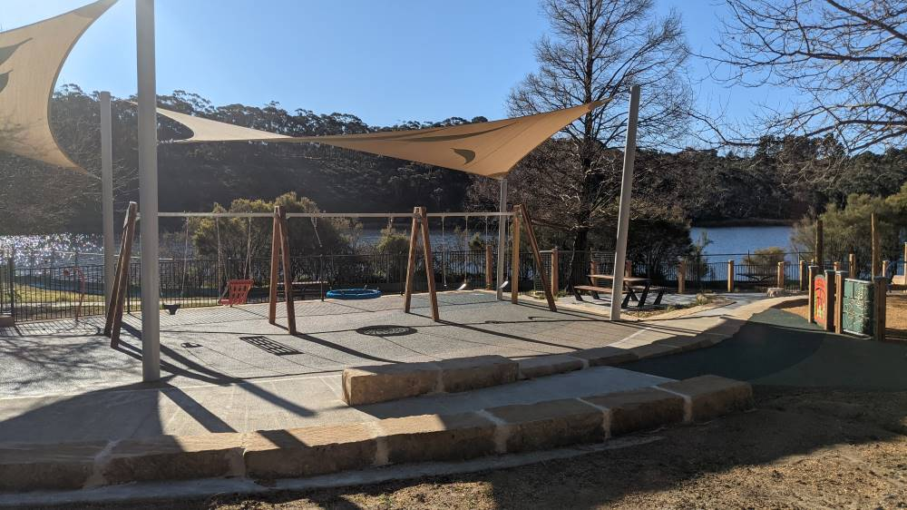 wentworth falls new playground five swings