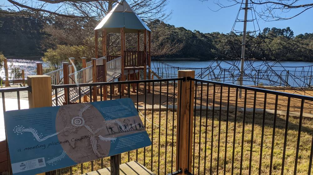 wentworth falls lake playground new play space