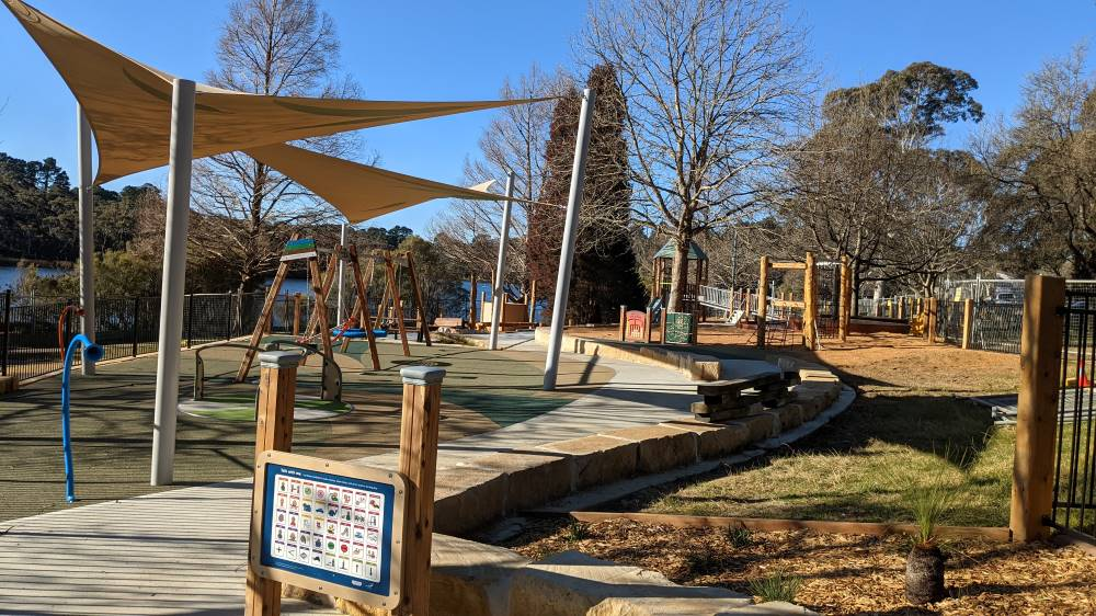 wentworth falls lake new playground