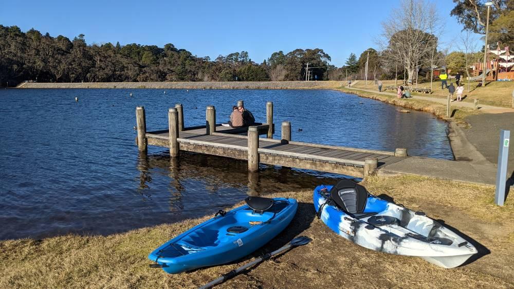 wentworth falls lake canoes and kayaks