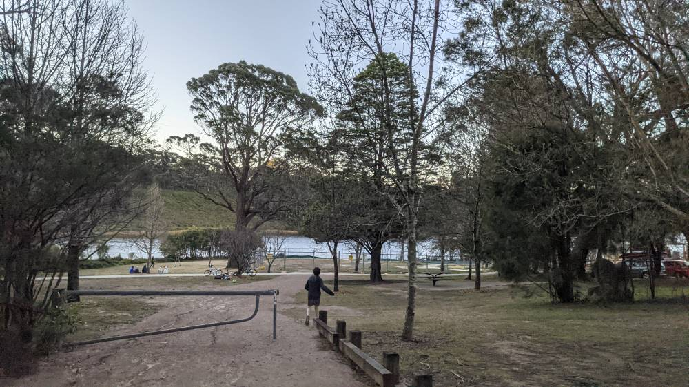 wentworth falls lake back to the playground