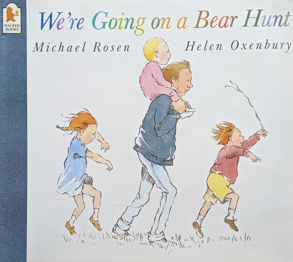 teach your child to read, books for babies and toddlers, we're going on a bear hunt