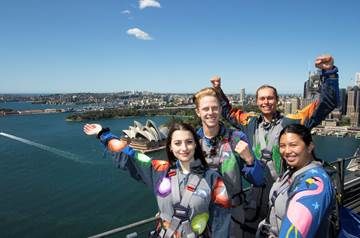 bridgeclimb sydney grad climb packages