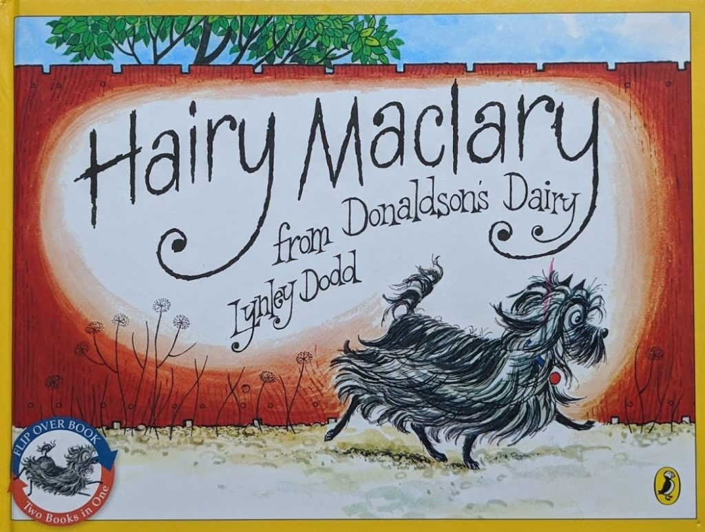 teach your child to read, books for babies and toddlers, hairy maclary