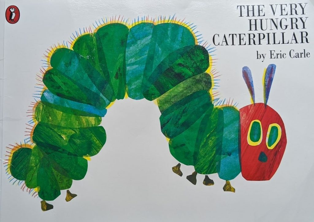 teach your child to read, books for babies and toddlers, the very hungry caterpillar