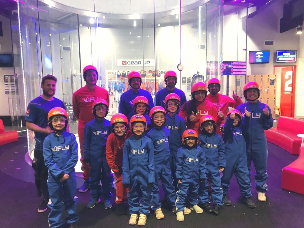 ifly penrith school holidays group