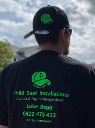 luke begg child restraint installer blue mountains