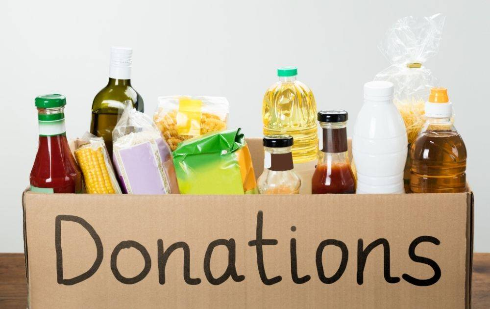 alternatives for halloween, donate pantry items to peopl ein need in the blue mountains