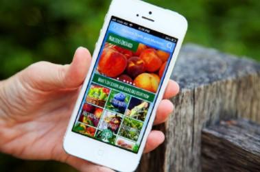 The farm gate trail app