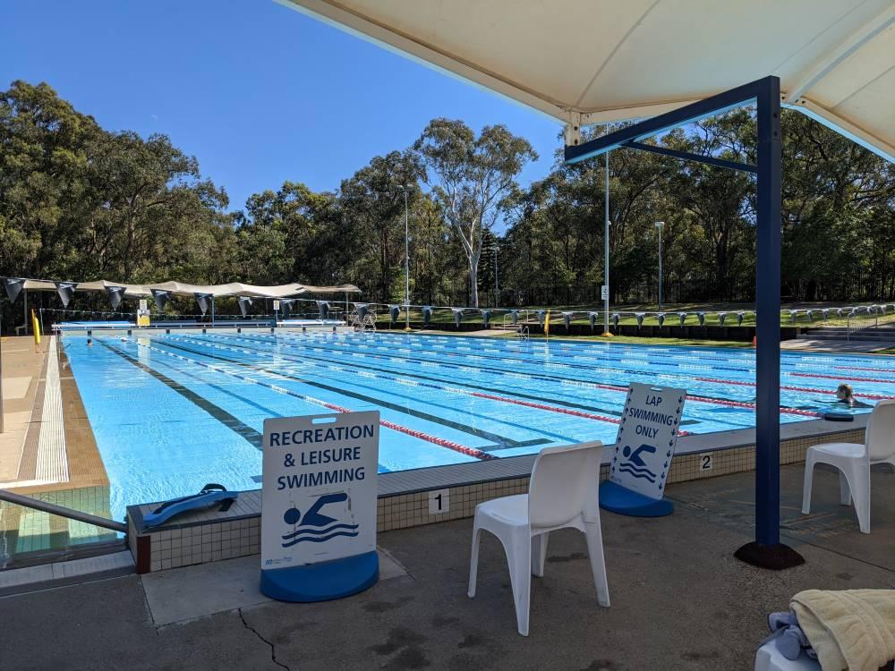 glenbrook pool 50 metre pool