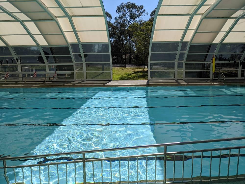 glenbrook pool roof opening