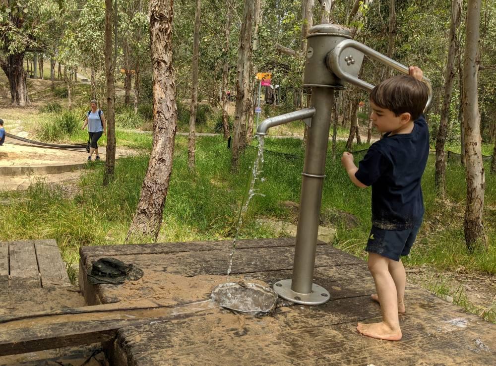 Lizard Log Abbotsbury, Western Sydney Parklands