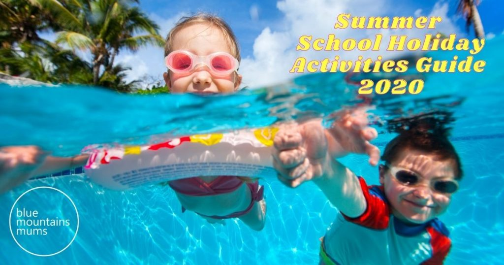 summer school holidays activities guide