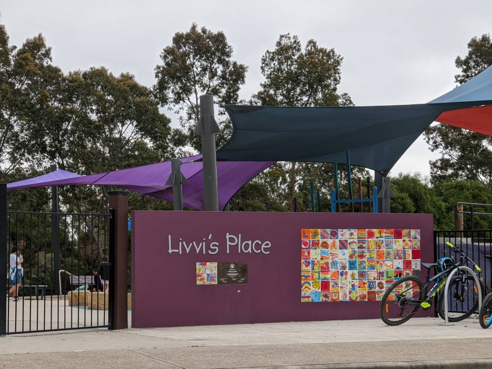 Livvi's Place Kellyville park and playground