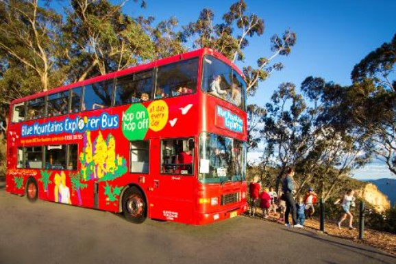 blue mountains explorer bus book your own bus
