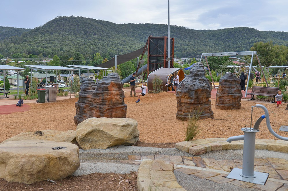 lithgow adventure park water play