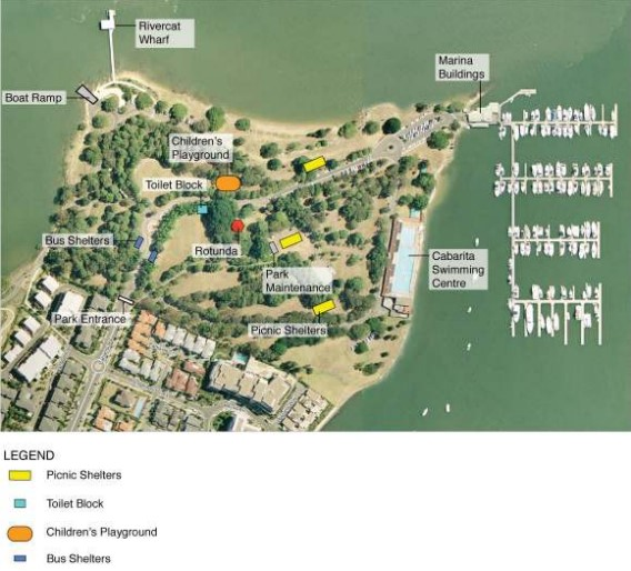 Cabarita Beach map