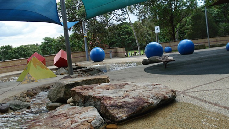 Putney Park - Splash Pool