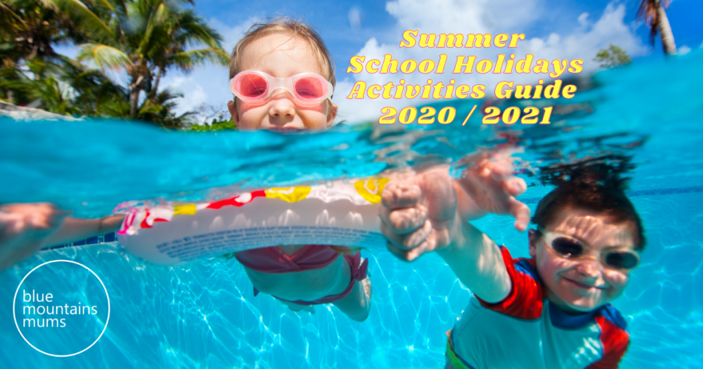 summer school holidays activities guide blue mountains
