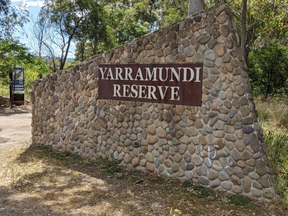 yarramundi reserve blue mountains sign