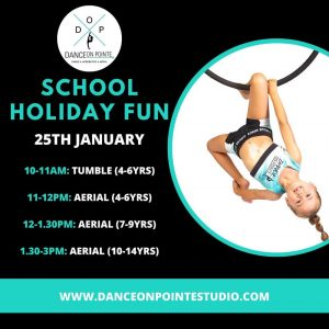 dance on point blaxland school holiday program