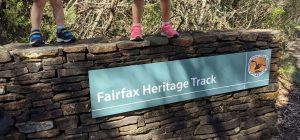 fairfax heritage track blackheath blue mountains national park