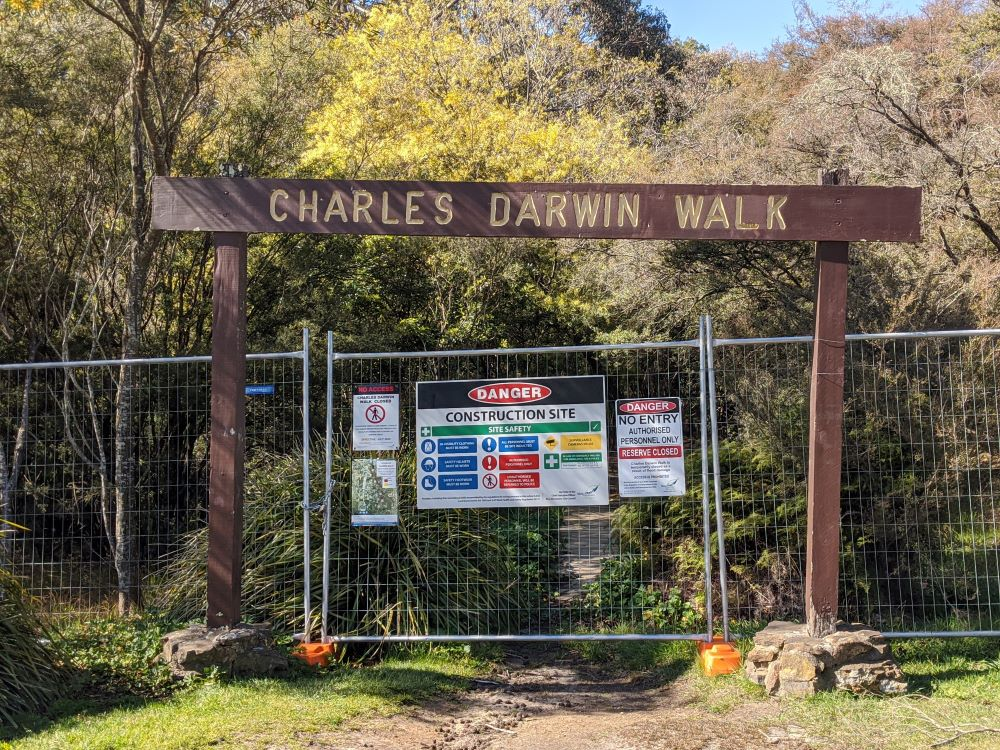 wilson park wentworth falls charles darwin walk
