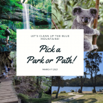 Clean Up the Blue Mountains on March 7: Pick A Park or Path To Make It Sparkle!