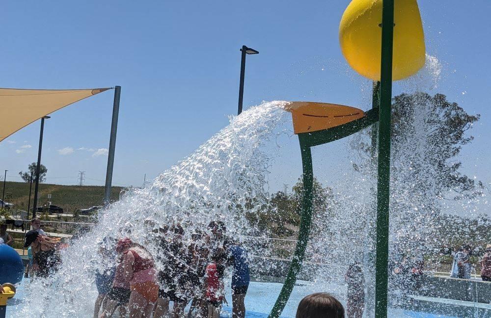 Dawson Damer splash park, Oran Park