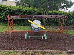 hinkler park katoomba aeroplane